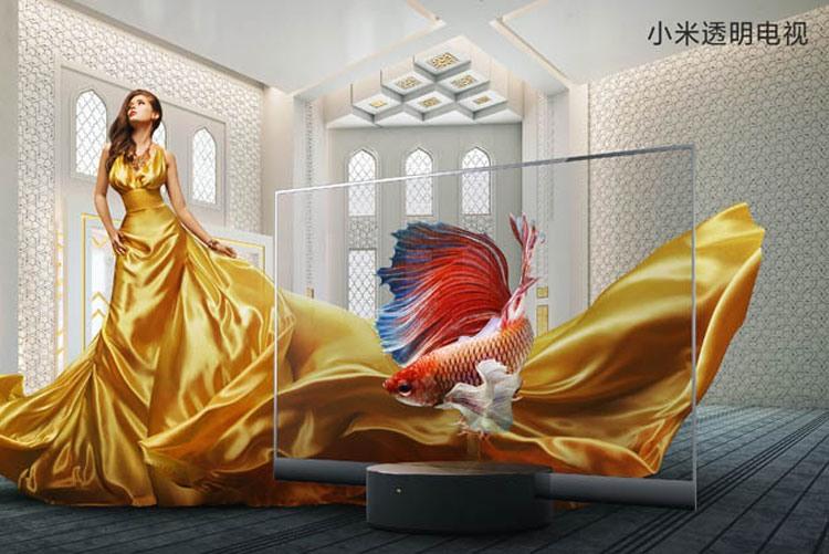 Телевизор Xiaomi MiTVLux OLED Transparent Edition