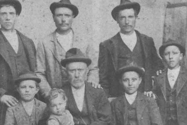 Семья Бугатти в 1898 году