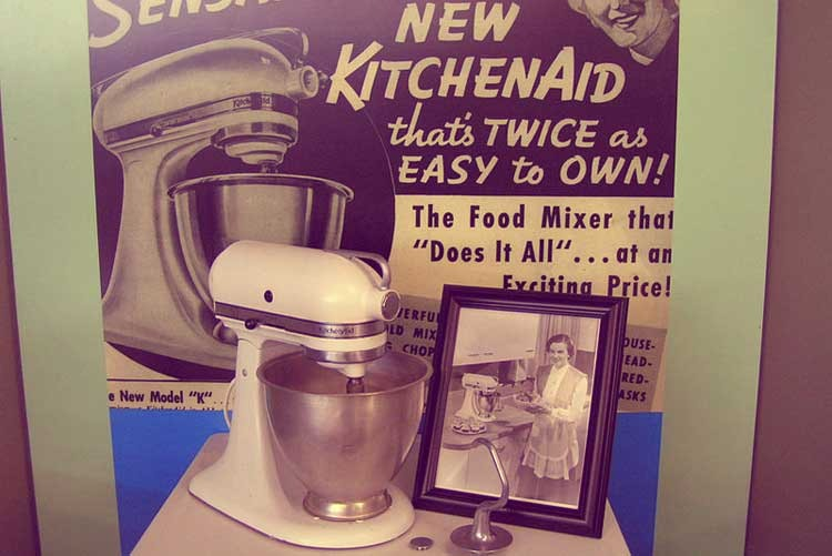 Стационарный миксер KitchenAid, модель «K»