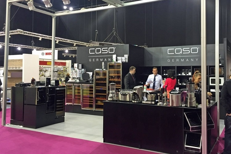 Торговая марка CASO постоянный участник международных выставок и мероприятий, посвященных современному образу жизни и приготовлению пищи.