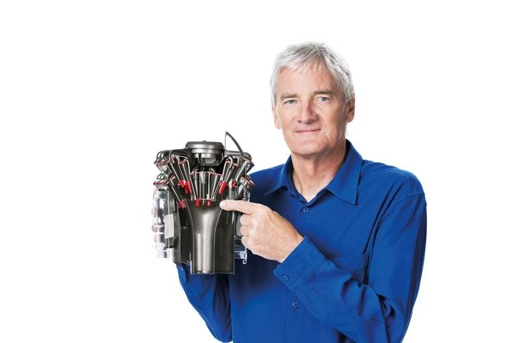 Джеймс Дайсон, английский изобретатель и дизайнер, основатель компании Dyson