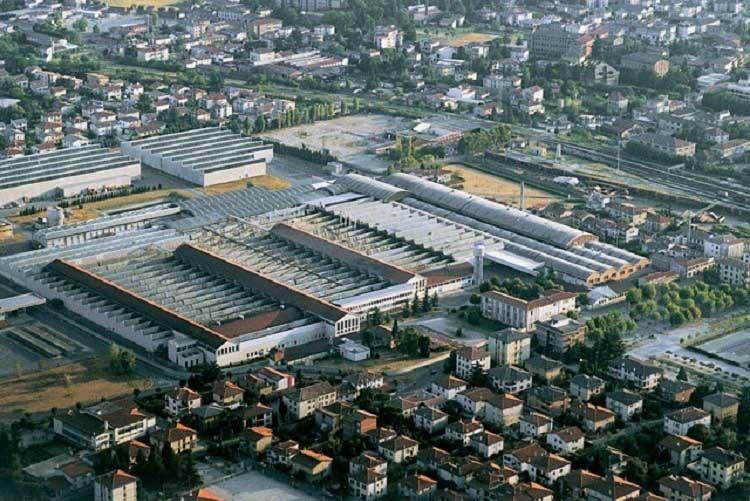 Завод BAXI в Италии