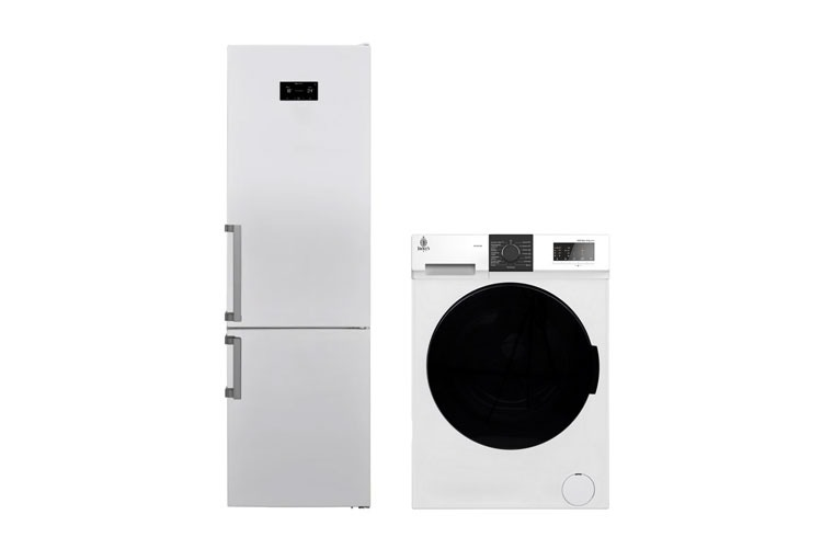 Холодильник и стиральная машина Jacky's