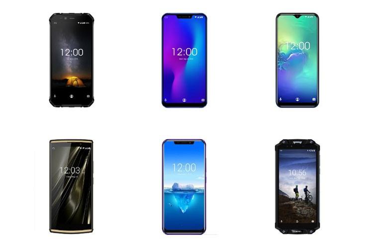 Смартфоны OUKITEL