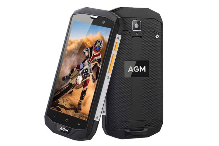 Защищенный смартфон AGM