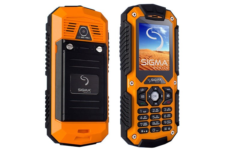 Телефон SIGMA MOBILE