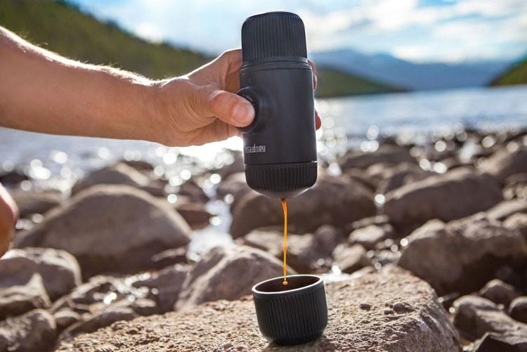 Ручная мини-кофемашина Wacaco
