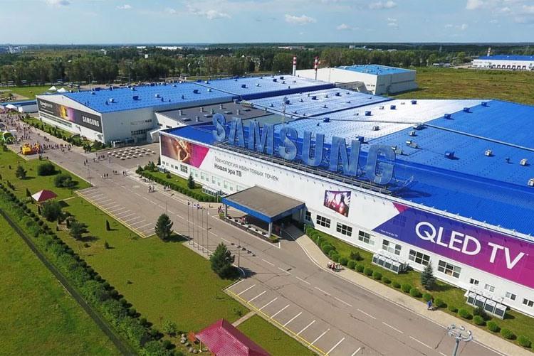 Завод Samsung Electronics в Калужской области