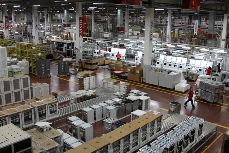 Готовая продукция на заводе Vestel City