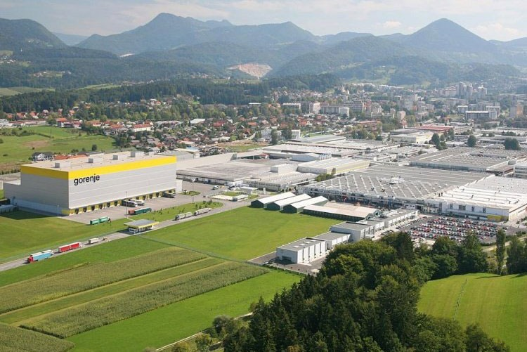 Завод Gorenje D. D. в Словении
