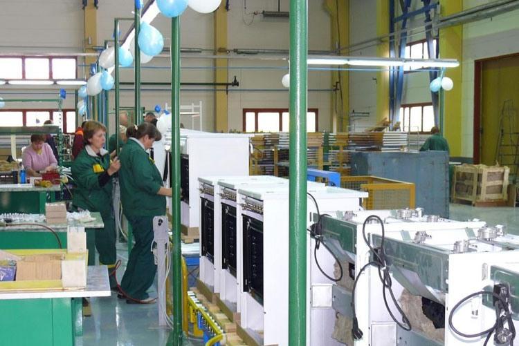 Производство плит на Чайковском филиале АО«Газпром бытовые системы»