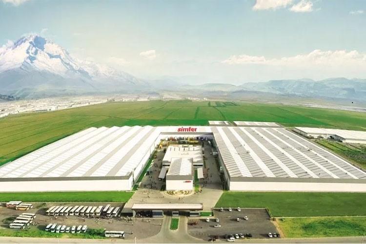 Завод Simfer в Турции