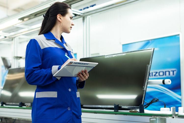 Производство телевизоров на заводе Горизонт