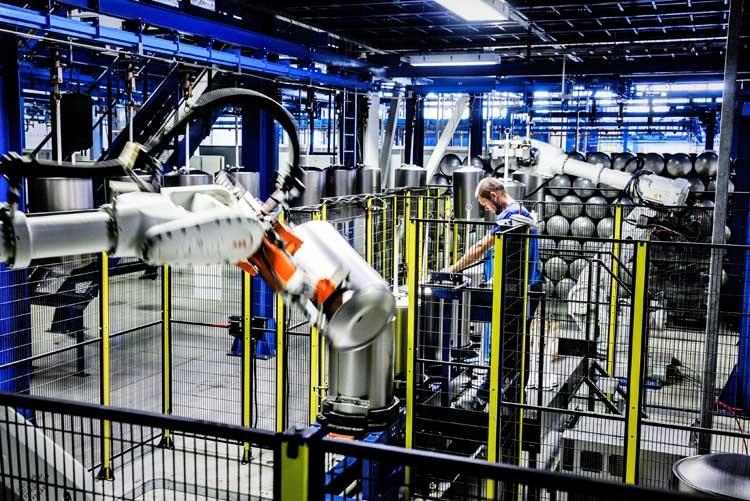 Производство водонагревателей
