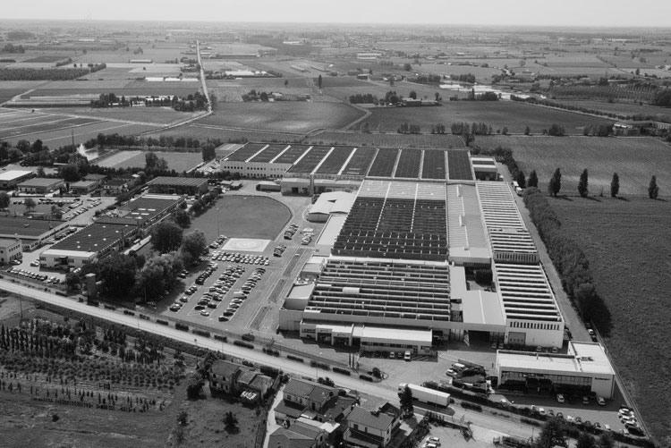 Завод Bonferraro S.p.A в Италии