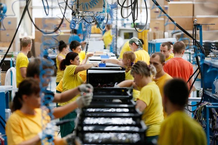 Производственная линия плит