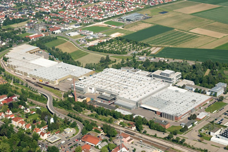 Завод по производству посудомоек BSH в Диллингене