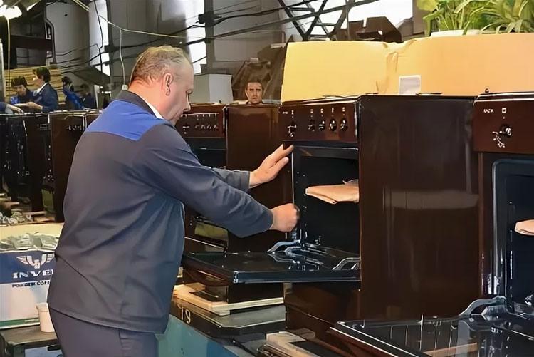 Производственная линия бытовых плит