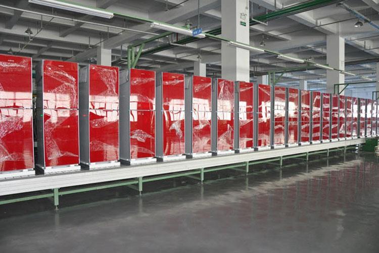 Готовая продукция на заводе Magic Appliance Corporation