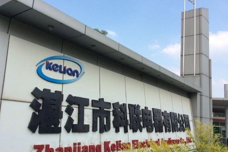 Завод Kelian Electrical Appliance в Китае