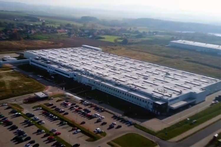 Завод посудомоечных машин Electrolux в Жарове, Польша