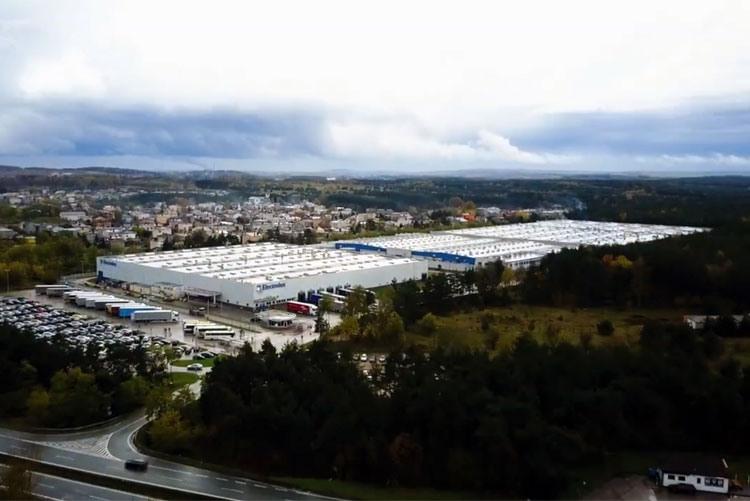 Завод сушильных машин Electrolux в Севеже, Польша