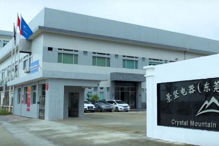 Завод Crystal Mountain в Китае