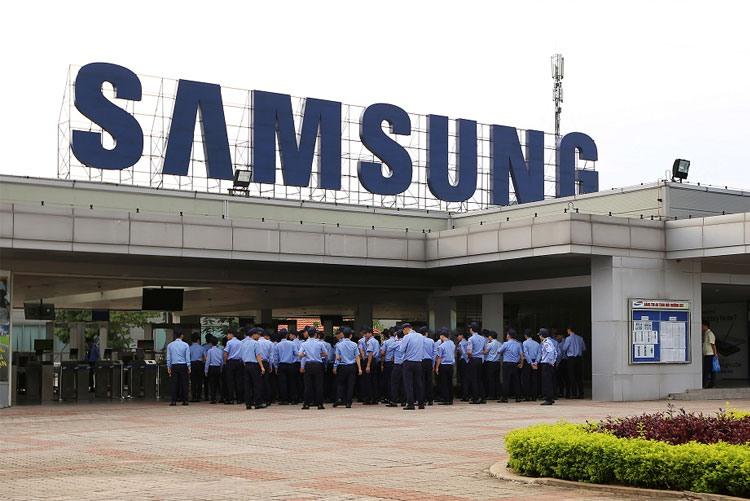 Завод Samsung Electronics во Вьетнаме