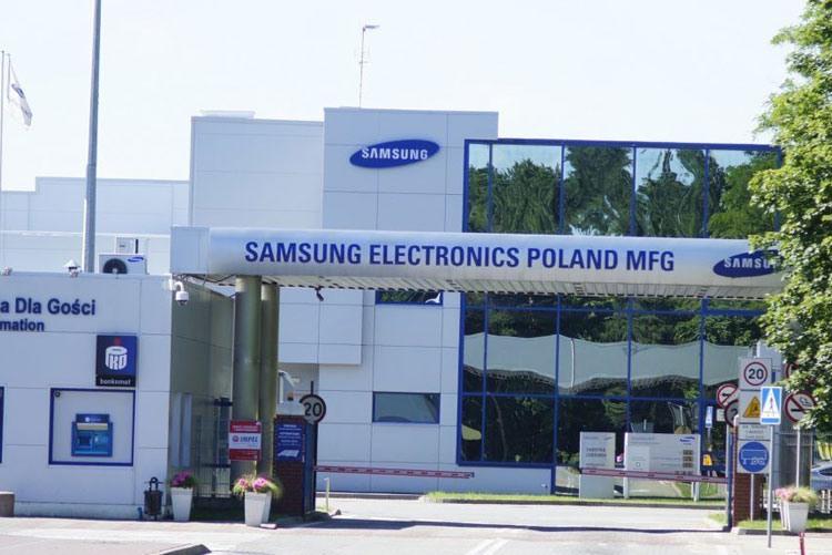 Завод холодильников и стиральных машин Samsung в Польше