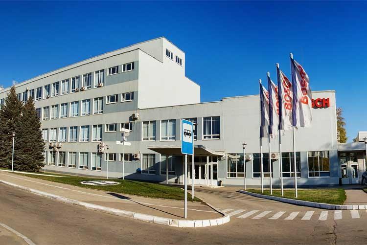 Завод Bosch в городе Энгельсе