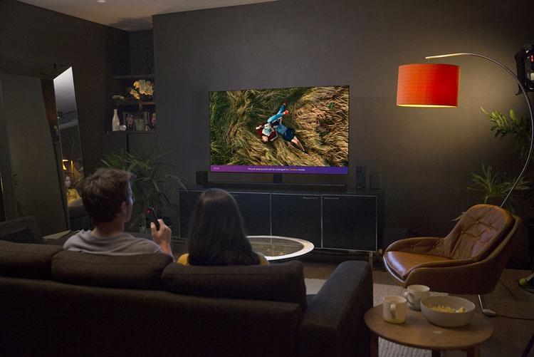 LG телевизоры премиум-класса 2018 года