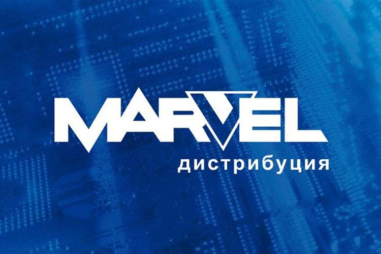 Логотип компании «Марвел-Дистрибуция»
