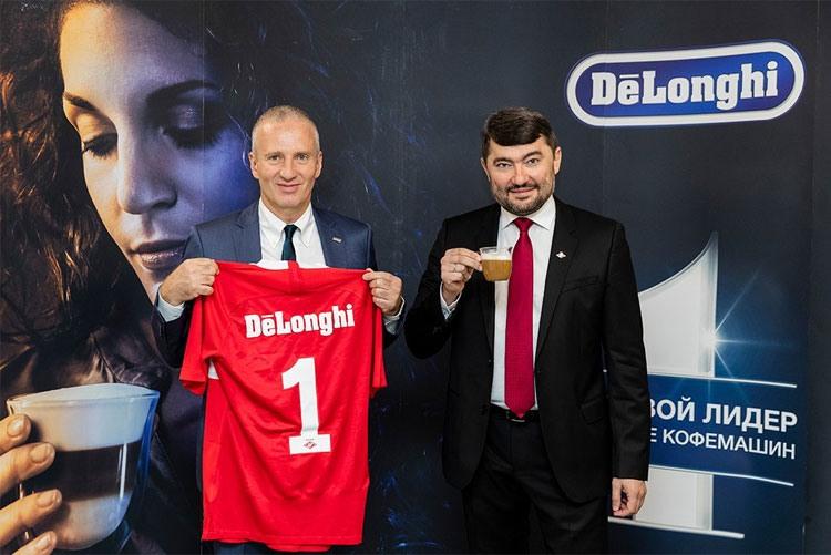 «Спартак» и итальянская компания De'Longhi объявили о начале партнерских отношений.