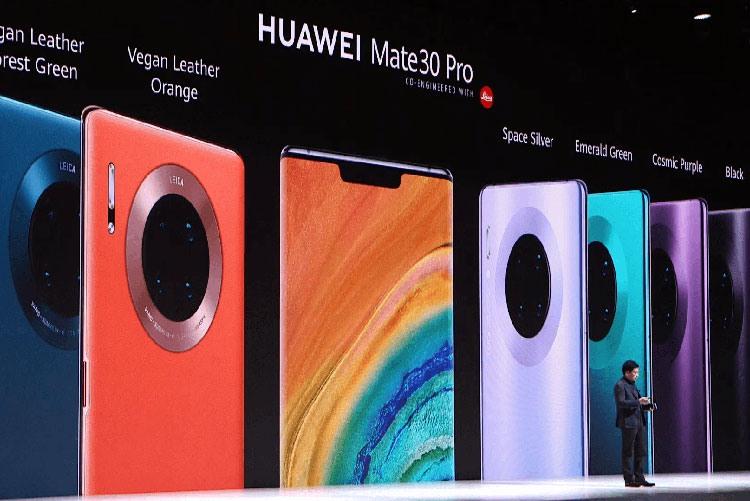 Презентация смартфонов Huawei Mate 30 и Mate 30 Pro