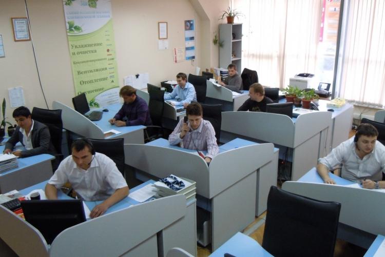 Офис компании Евротехклимат