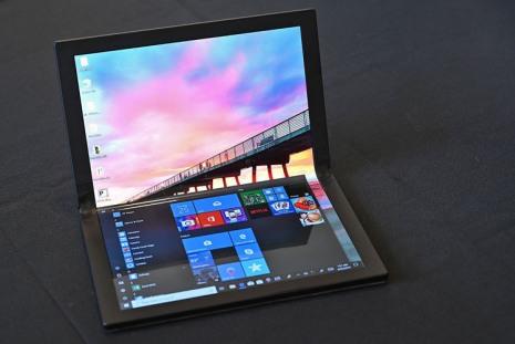 Ноутбук сгибким дисплеем Lenovo