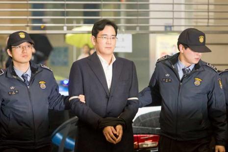 Глава Samsung получил пять лет тюремного срока