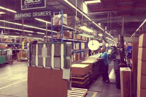 Завод компании Dacor