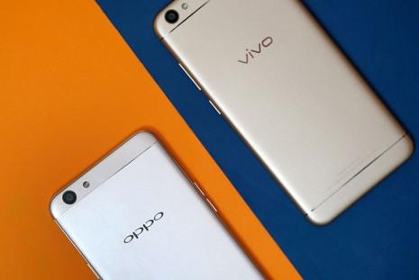 Смартфоны Oppo и Vivo