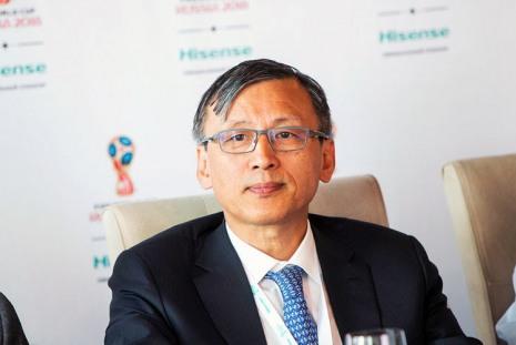 председатель Hisense International Ltd. Лан Лин