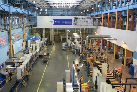 На заводе Pozis