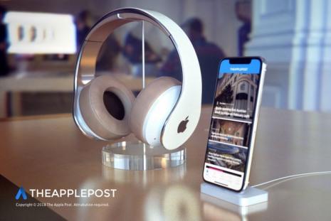 3D-рендер накладных наушников от Apple