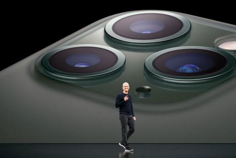 Презентация Apple втеатре Стива Джобса