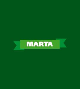 Логотип MARTA