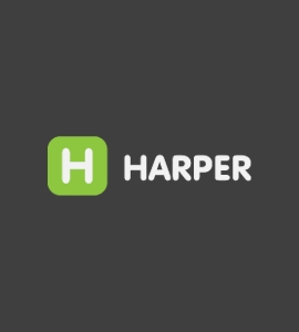 Логотип HARPER