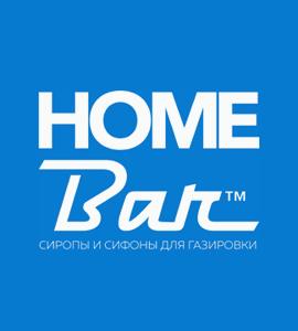 Логотип HOME BAR