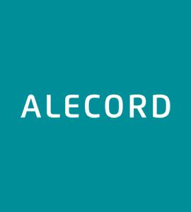 Логотип Alecord