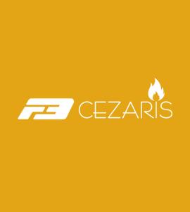 Логотип Cezaris