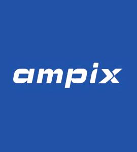 Логотип Ampix