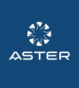 Логотип ASTER